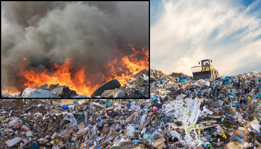 Solid Wastes in Landfills