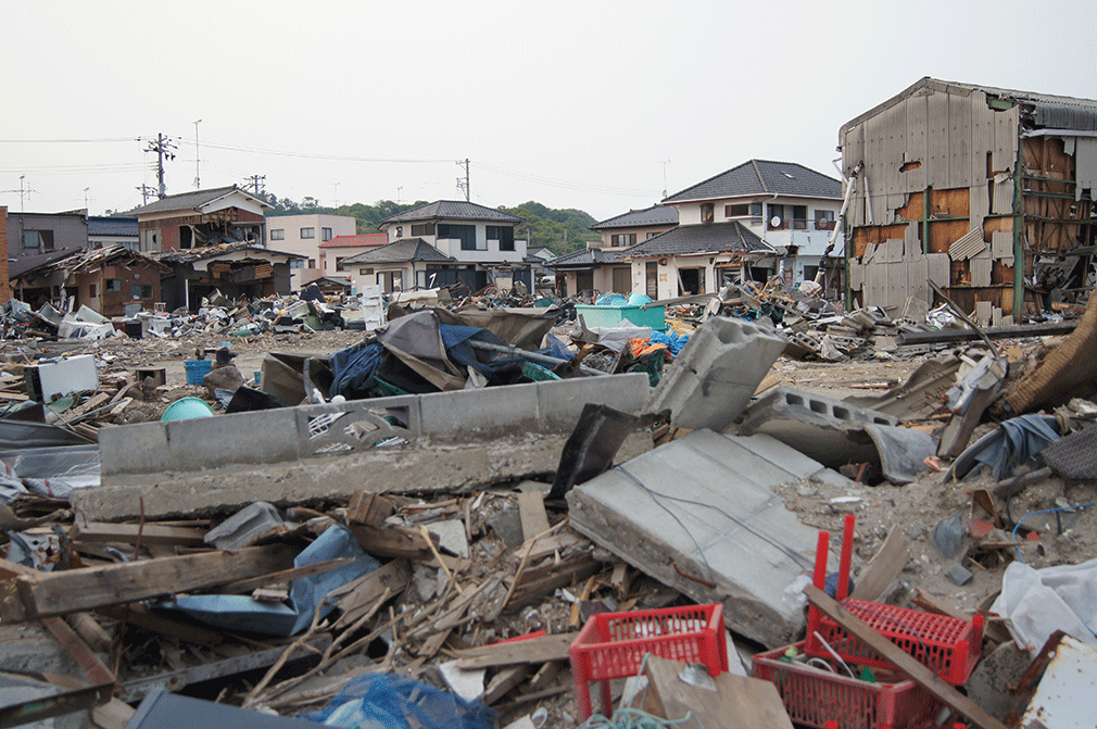 toxic debris