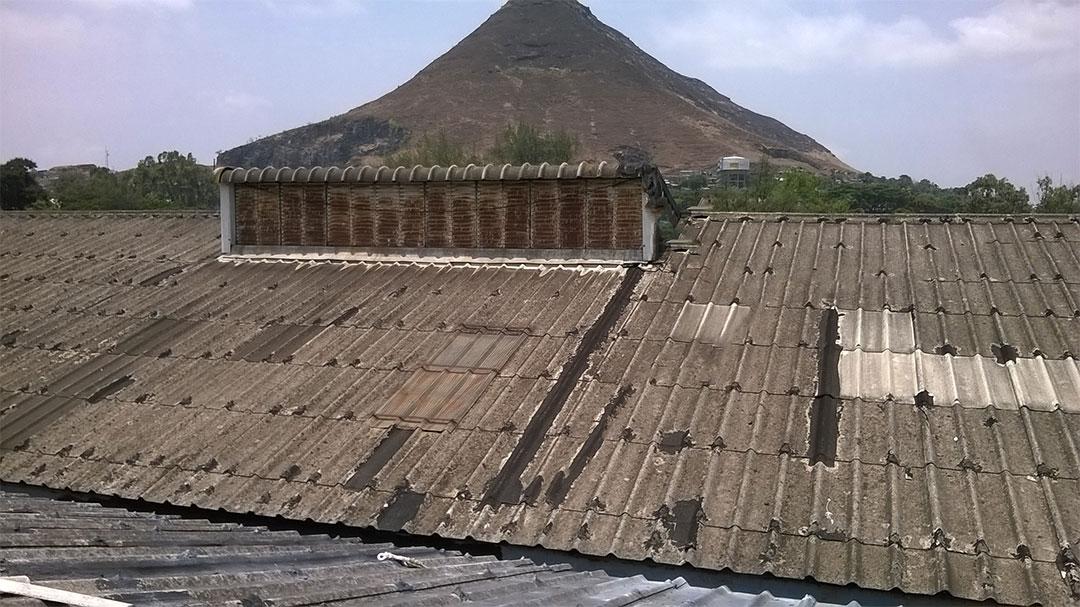 Asbestos Transite Roof