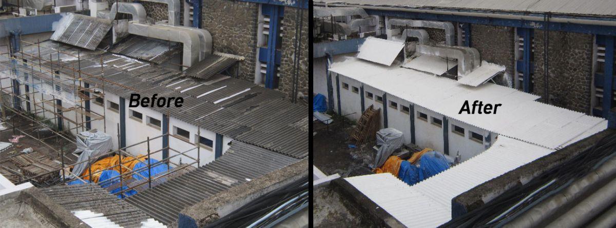 Asbestos Roofing Encasement
