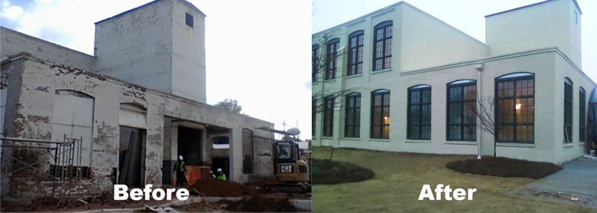 Restoration of Building