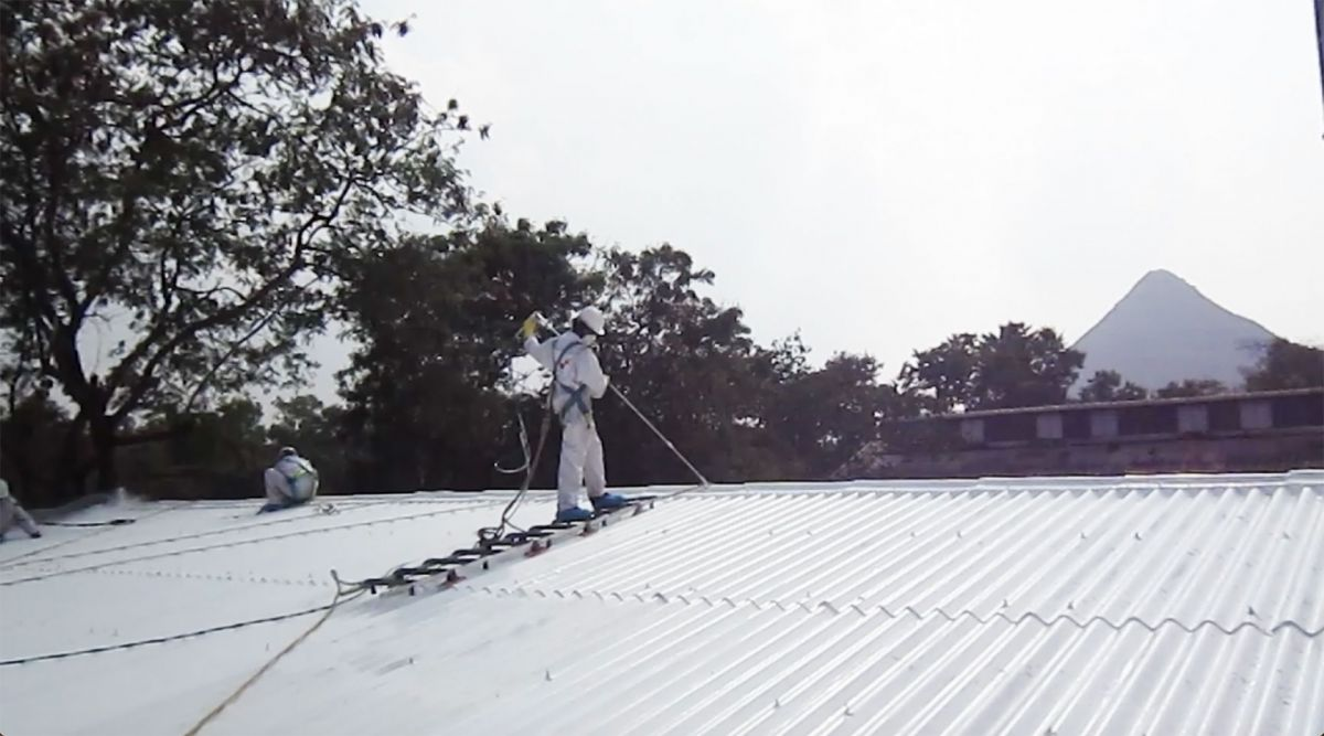 Roofing at Glaxo Smith Kline