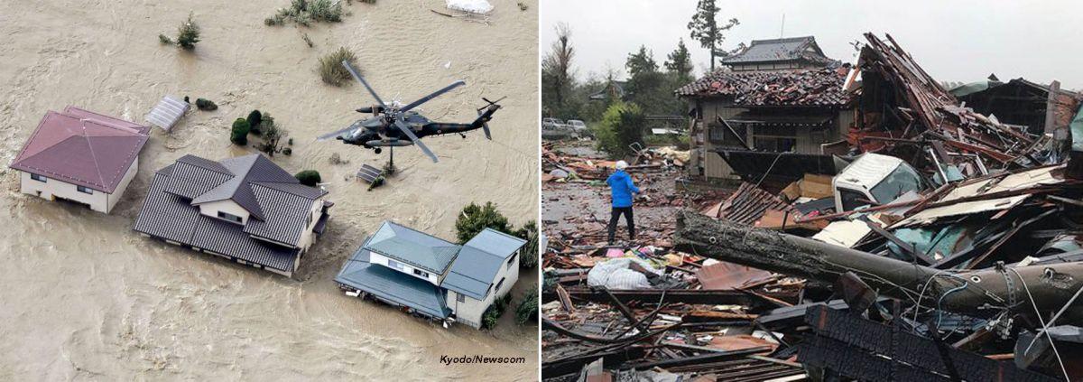 Hagibis Typhoon
