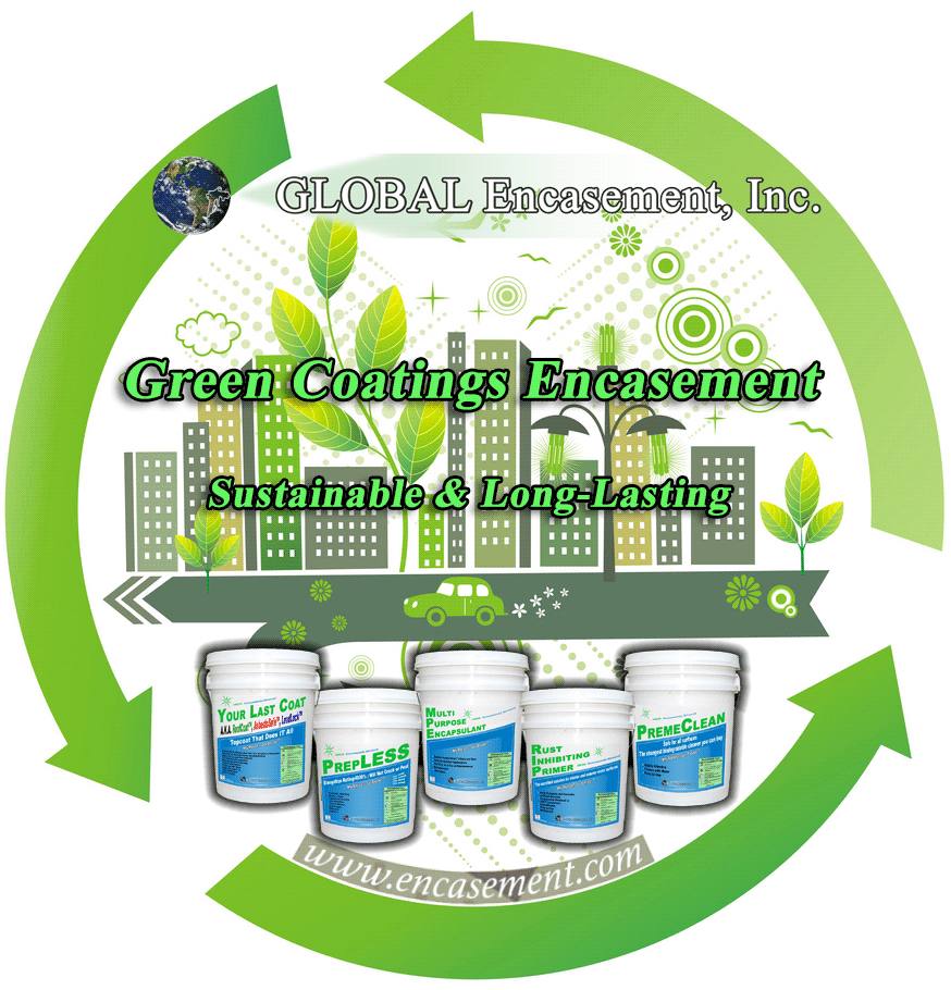 Green Coating Encasement
