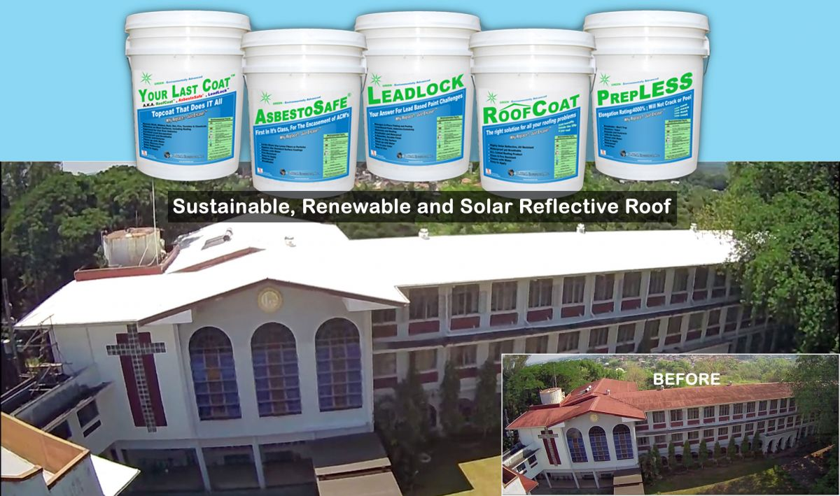 sustainable, renewable and solar reflective